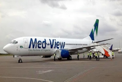 Panic as Medview Airline plane develops fault midair en route to Abuja