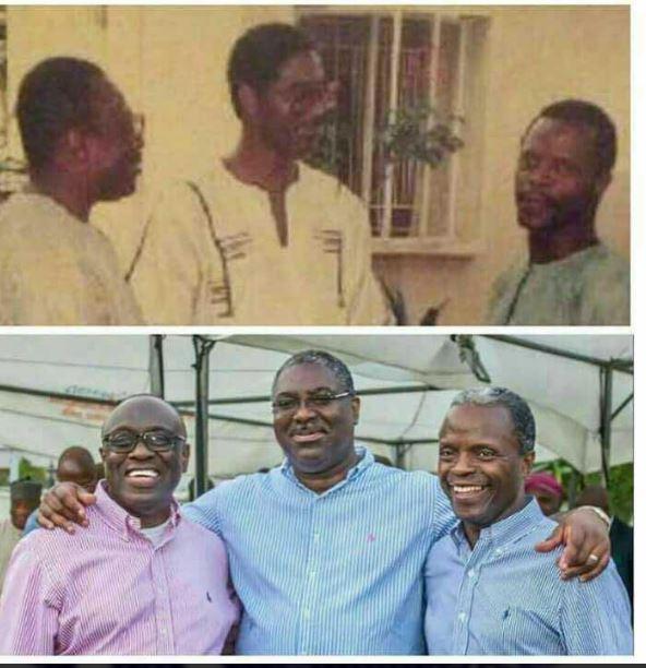 The three powerful trio – Throwback pics of Ade Asekun, Tunde Fowler & Yemi Osibanjo