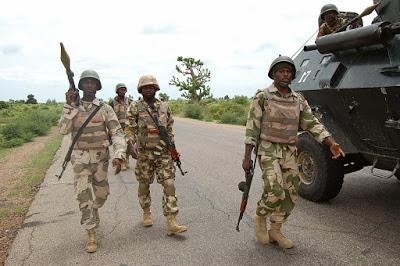 Nigerian troops neutralise eight bombers in one week