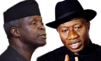 Jonathan replies Osinbajo – 'Provide evidence that we shared N150 billion 2 weeks to 2015 elections'