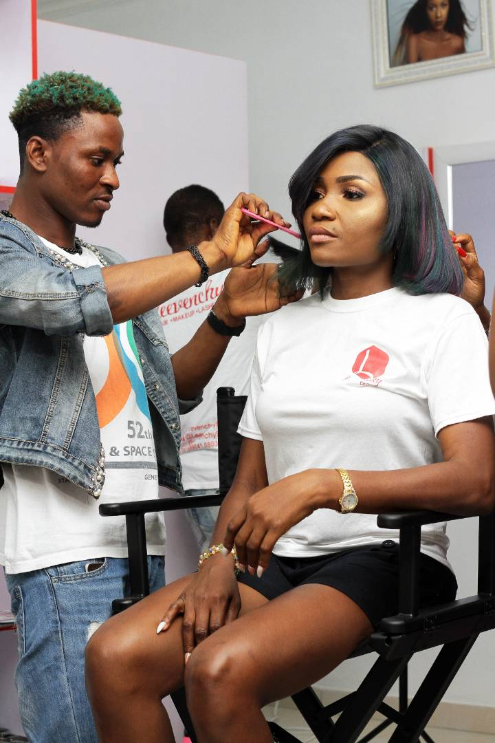 PHOTOS: Miss Visor Leesi CEO Leevenchy Brand Launches New Space/Soft