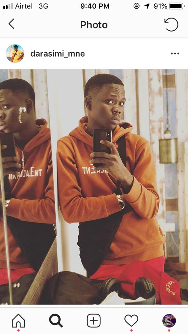 DAVIDO PR KNOWN AS DHARASIMI HAS BEEN CALLED OUT FOR SCAMMING A BLOGGER OF 150K