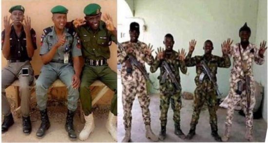 Police, Military Officers Endorsing Buhari Are Under Investigation