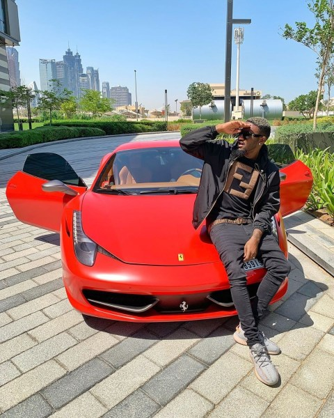 "Singer and businessman B Naira  acquires Multi-Million Naira Ferrari, Releases New Song ""Fall on Me"""