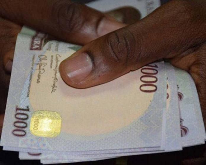 Naira exchanges at N359 to dollar at parallel market