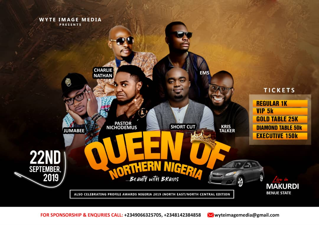 FULL DETAILS: Queen of Northern Nigeria 22nd September,2019