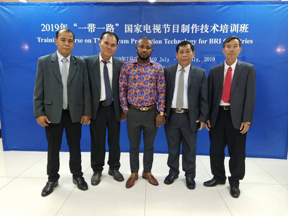 Joseph Marshall Agyepong Attend Training Course on TV Production in China.