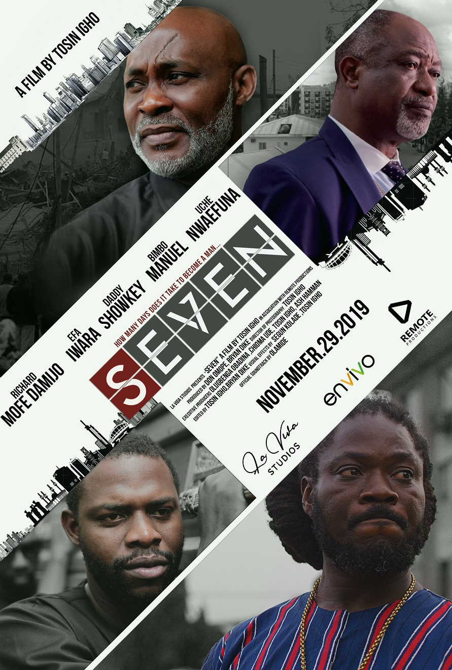 "Watch The Trailer For The Movie ""SEVEN"" Starring RMD, Orezi, Daddy Showkey and More, Directed by Tosin Igho"