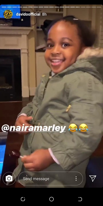 Hailey Adeleke Confirm Her Marlian Status As She Sing SOAPY With Her Dad, Davido