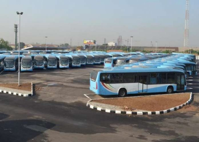 Lagos bus service scraps standing in buses