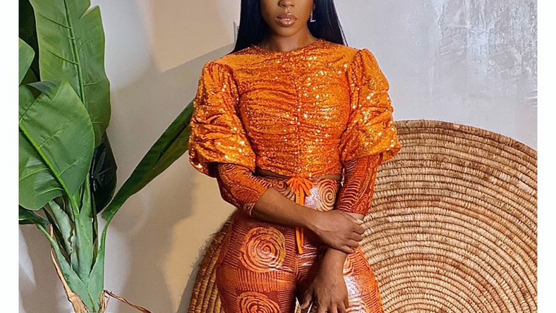Beverly Naya radiates beauty and class in 'Adire' effortlessly