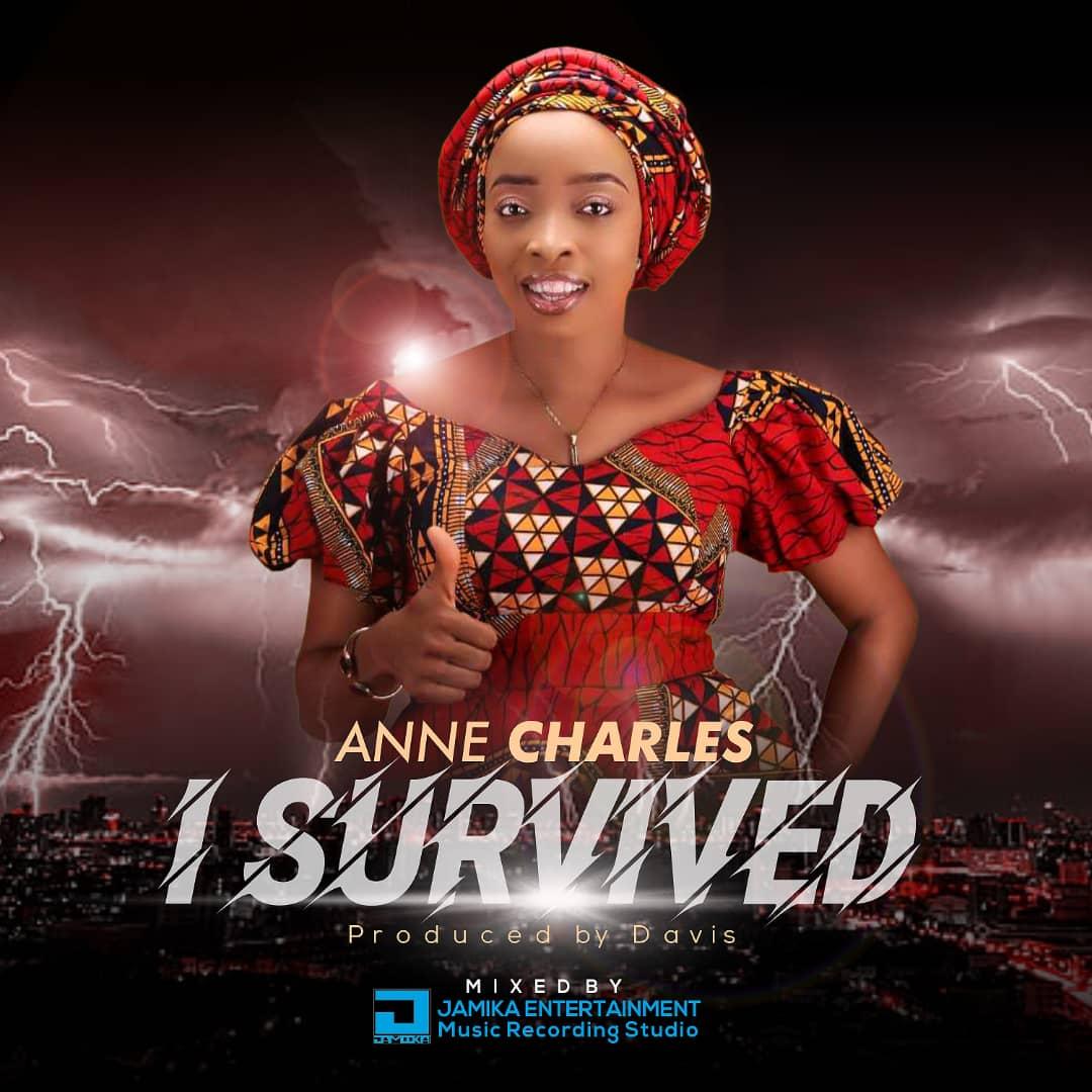 """Anne Charles Unveils First Studio Album Artwork """"I Survived"""" @Anne.anyanwu"""