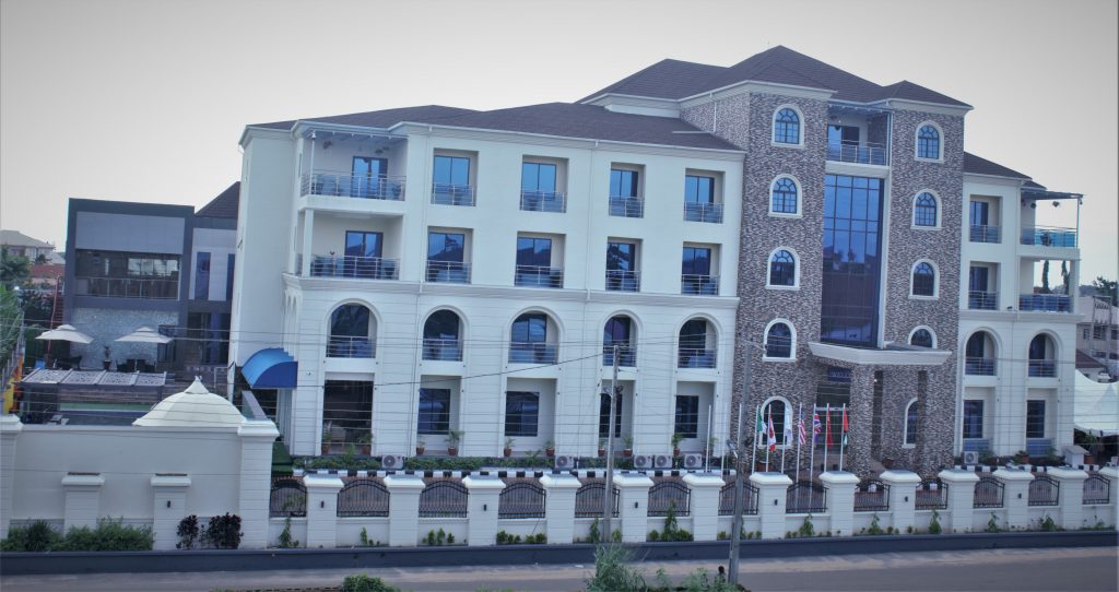 Governor Akeredolu opens  St. Jacobs Hotel ,the new most luxury hotel in akure