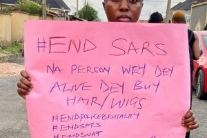 Kojhairways's CEO, Oluwakemi Juba Speaks On #EndSars Protest | PHOTO