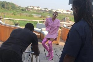 "Behind The Scene Pictures From Maureen's ""Mind Your Business"" Video Making 
