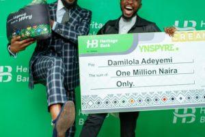 D'banj's Cream Platform Kickstarts 'YNSPYRE' Campaign With Heritage Bank, Gives Away N1m
