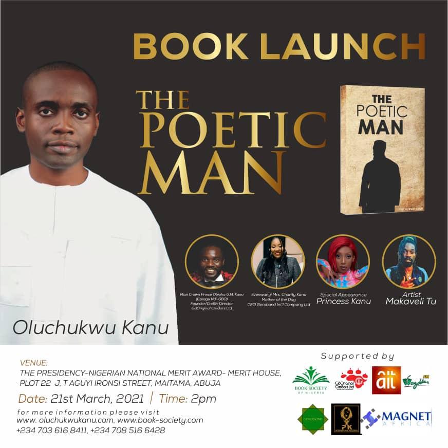 Book Launch: The Poetic Man By Oluchukwu Kanu