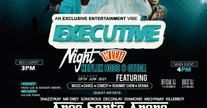 Heflex Music Worldwide Presents An Executive Night With Heflex Boss And Otega