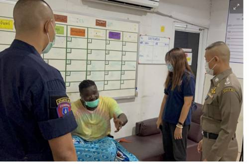 Nigerian Man, Nwaenyi Held For Selling Ecstasy Pills In Thailand Clubs